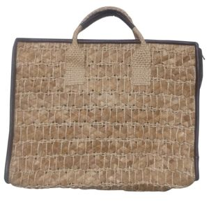 🇨🇦 Vintage 70s Roslyn of Barbados hand woven bag